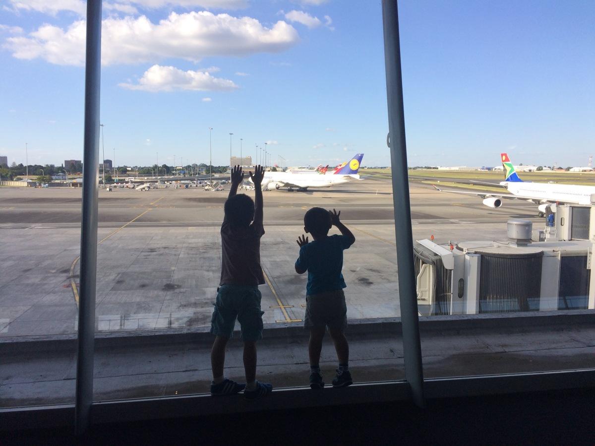 Do I look like I'm trafficking my own kids?